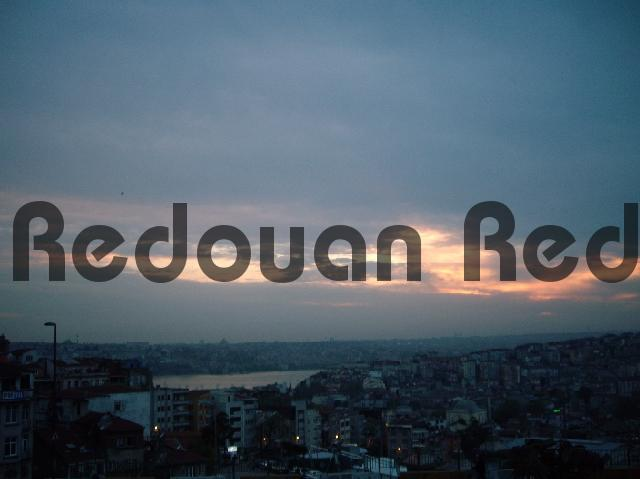 Product picture The evening falls over Istanbul Turkey