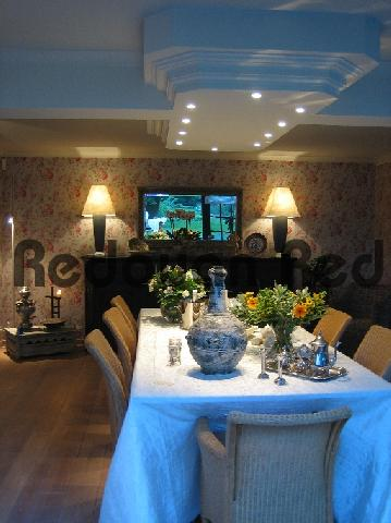 Product picture Interior design with a mystical shade of blue from outside r